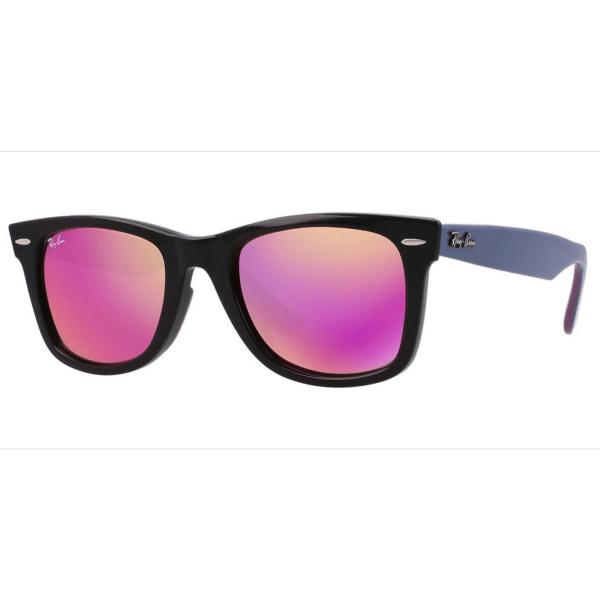 Óculos de Sol Ray Ban RB2140 1174/4T Preto e Roxo