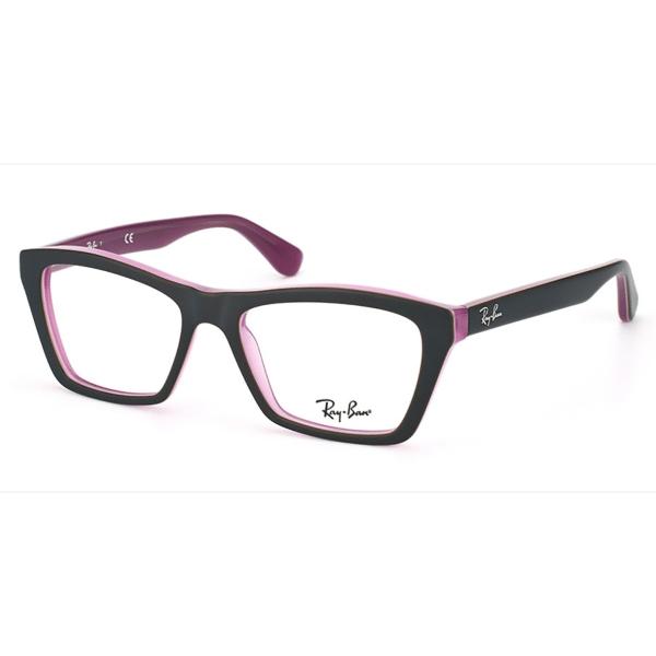 e472c939da89d Óculos de Grau Ray Ban RB5316 5386 Preto Roxo