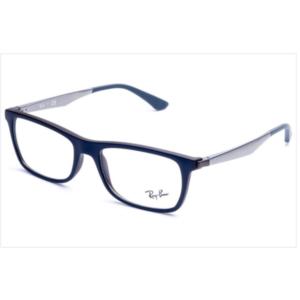 Óculos de Grau Ray Ban RB7062 5575 Azul/Marrom