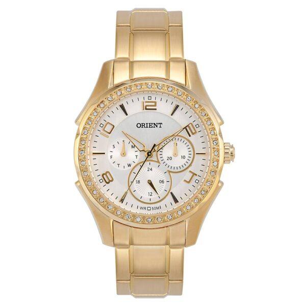 Relógio Orient Feminino Multifunção Dourado FGSSM031 S2KX