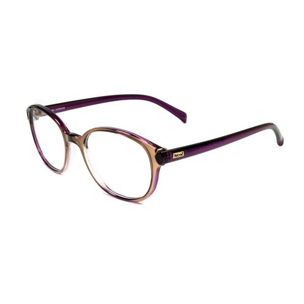 Óculos de Grau SECRET M80 056 Marrom e Fúcsia