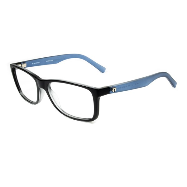 Armação de Óculos de Grau SECRET Preto-Azul Trans