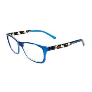 Armação de Óculos de grau SECRET Azul-Demí M80 070 50c3589191