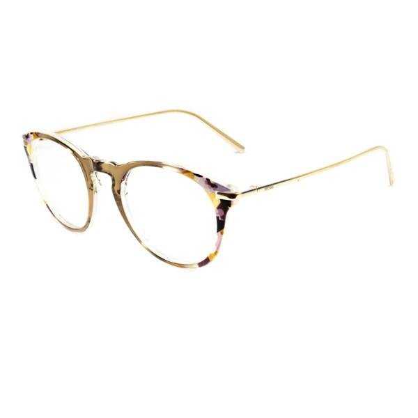 Armação de Óculos de Grau SECRET Marrom Floral Trans - Para Todos c06cf8387b