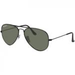Óculos de Sol Ray Ban Aviador RB3025L Preto Polarizado