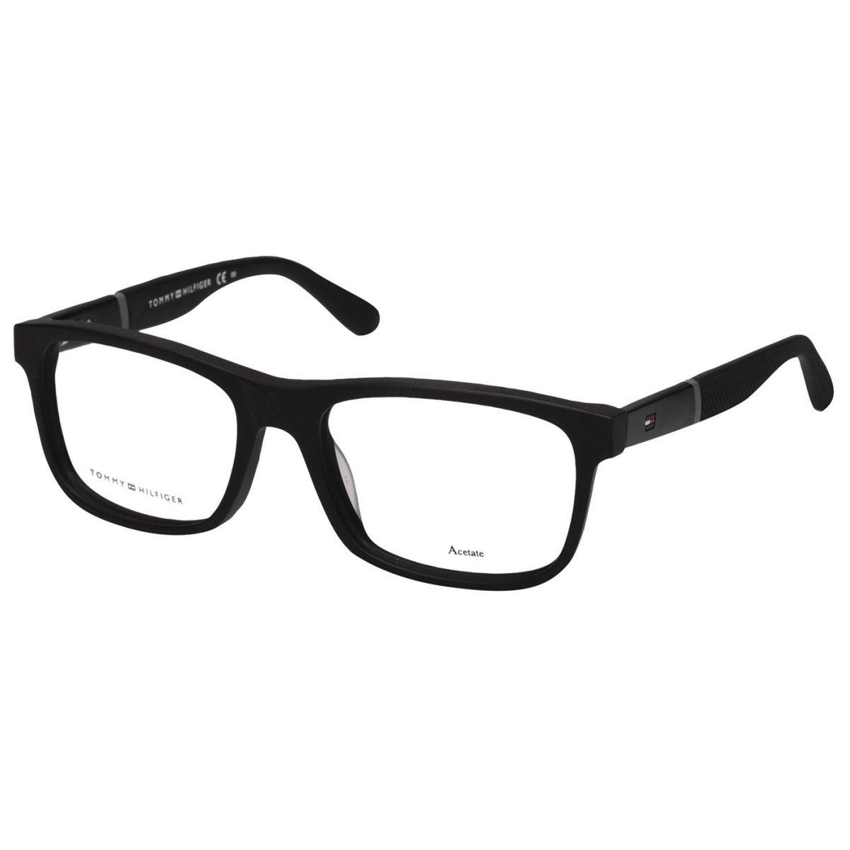 Armação de óculos Tommy Hilfiger TH 1282 KUN 5217 - Para Todos 1364ccc32e