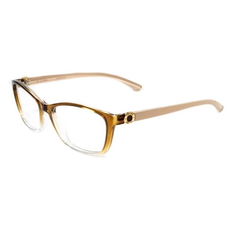 Armação Óculos SECRET Feminino Marrom Trans M80 080