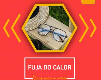 Evite deixar seus óculos expostos ao calor por um longo período…😎🕶👓