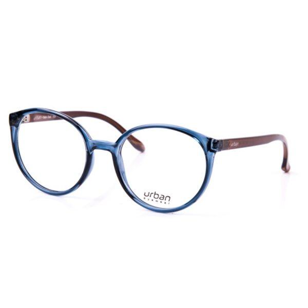 Armação de Óculos Urban Unissex 5020-50-2311 Azul Petróleo